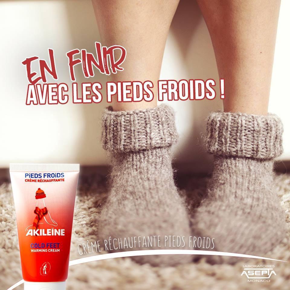 creme chauffante pour pieds froids
